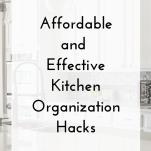 Clean Kitchen Organization