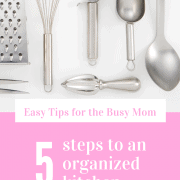 5 Steps to an Organized Kitchen