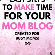 Mom Blog Schedule