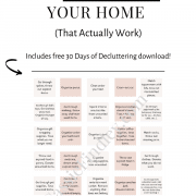 20 Tips to Declutter Your Home